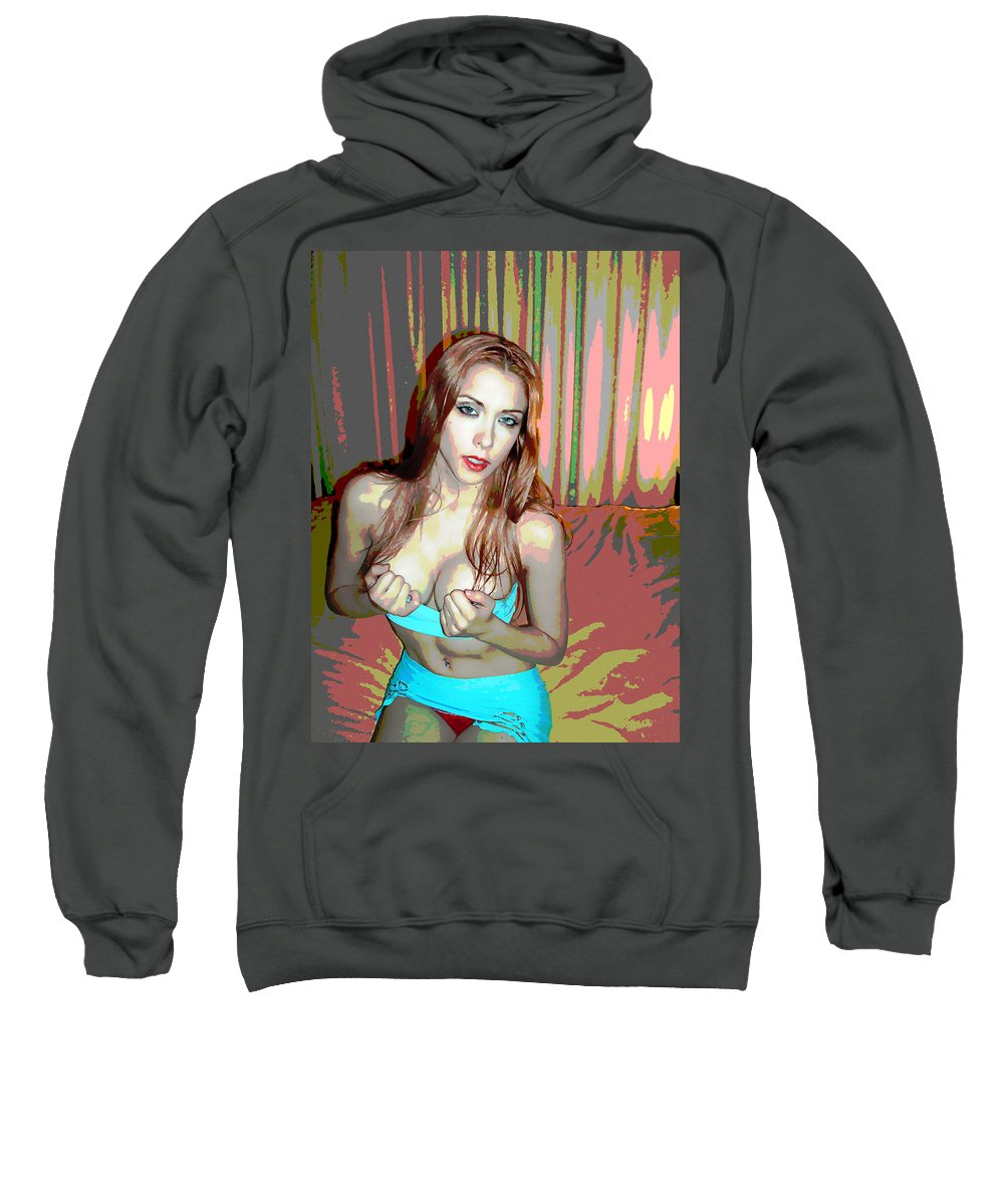 Women Sweatshirt featuring the photograph Wants by Francisco Colon
