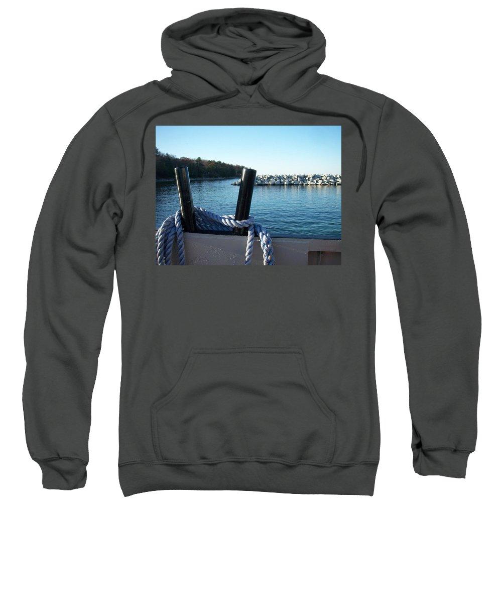 Washington Island Sweatshirt featuring the photograph Washington Island 1 by Anita Burgermeister