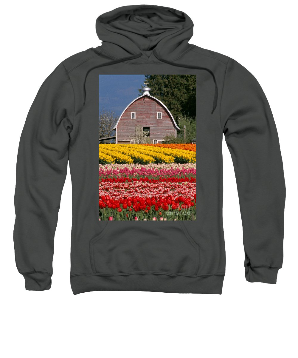 Agribusiness Sweatshirt featuring the photograph Washington, View by Greg Vaughn - Printscapes