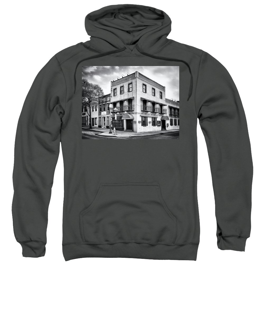 Historic District Sweatshirt featuring the photograph Water And Market by Paul Schreiber