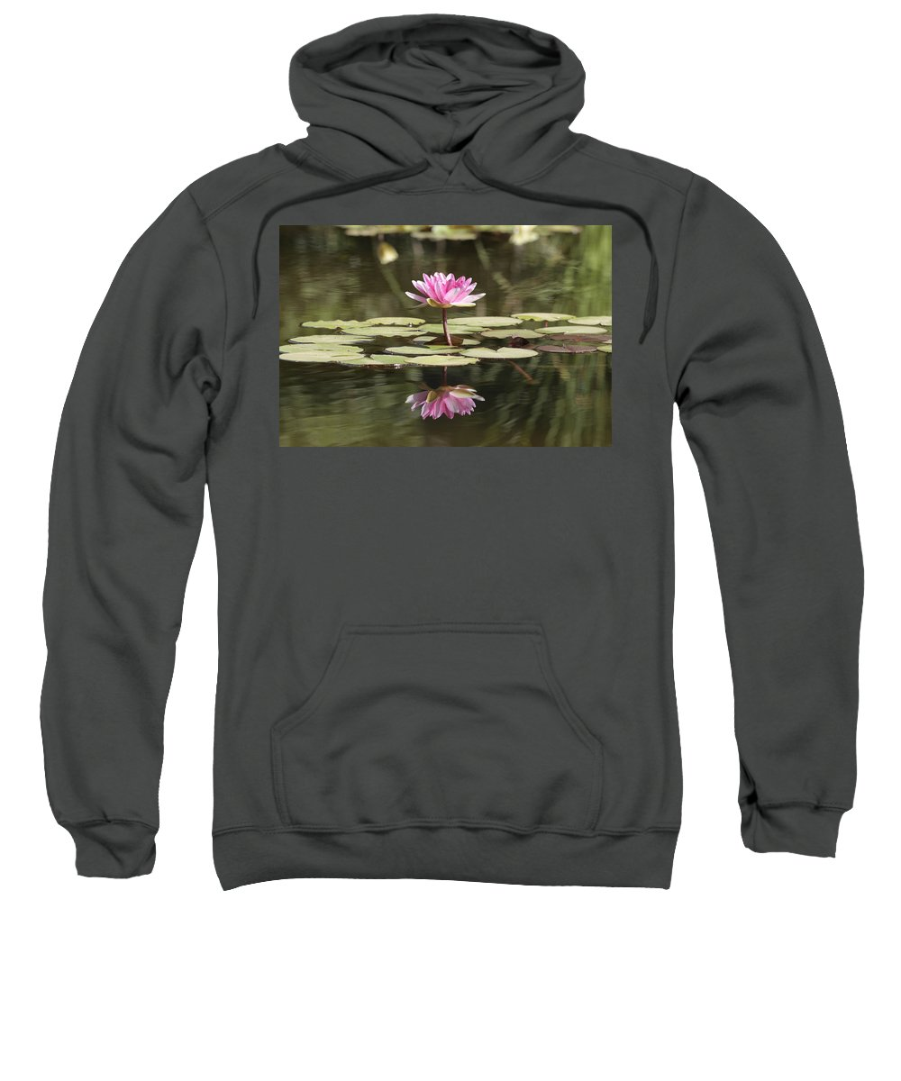 Lily Sweatshirt featuring the photograph Water Lily by Phil Crean