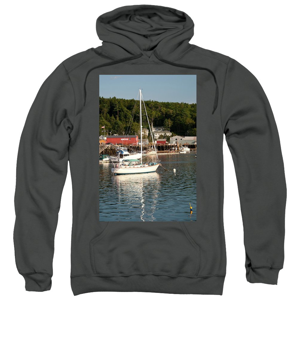 Boat Sweatshirt featuring the photograph Water Song 1459 by Guy Whiteley
