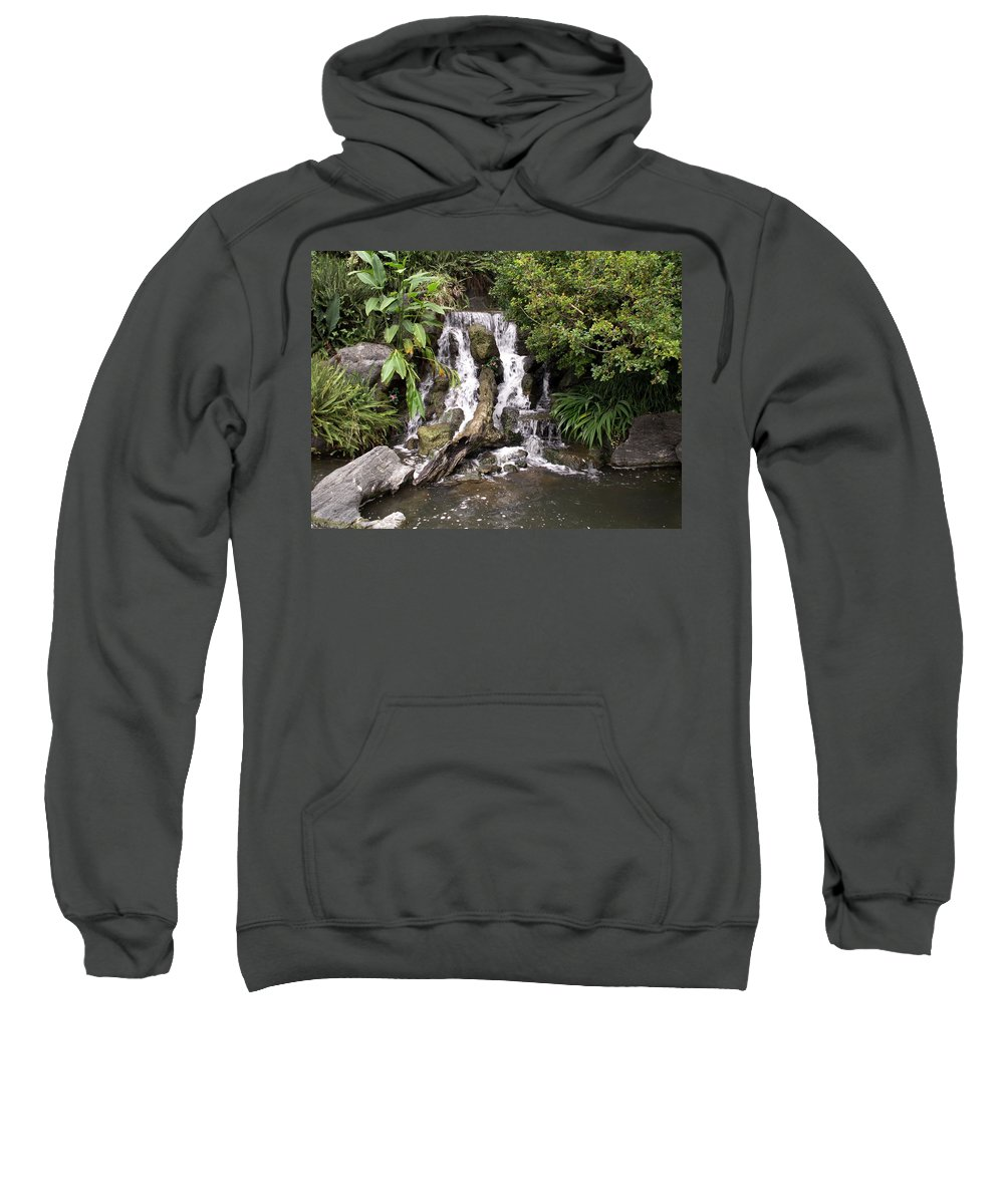 Water Sweatshirt featuring the photograph Waterfall by Amy Fose
