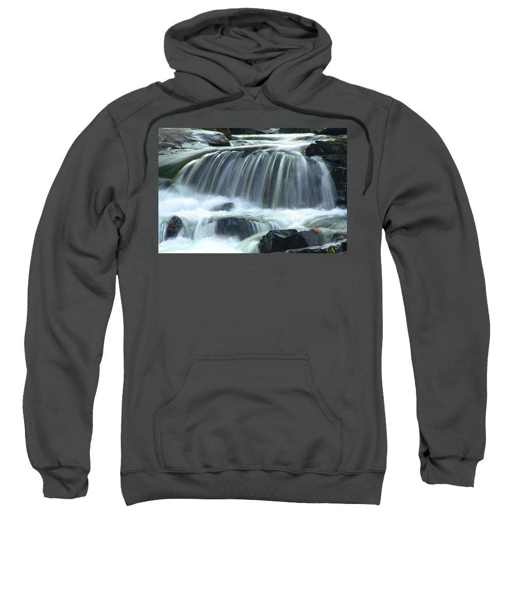 Waterfall Sweatshirt featuring the photograph Waterfall by Francesa Miller