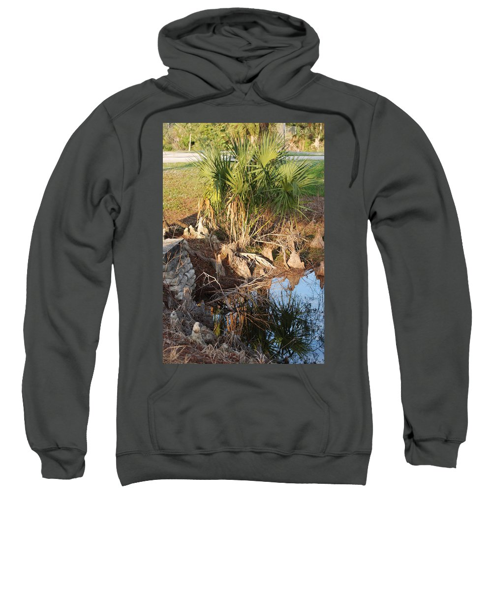 Roots Sweatshirt featuring the photograph Waters Edge by Rob Hans