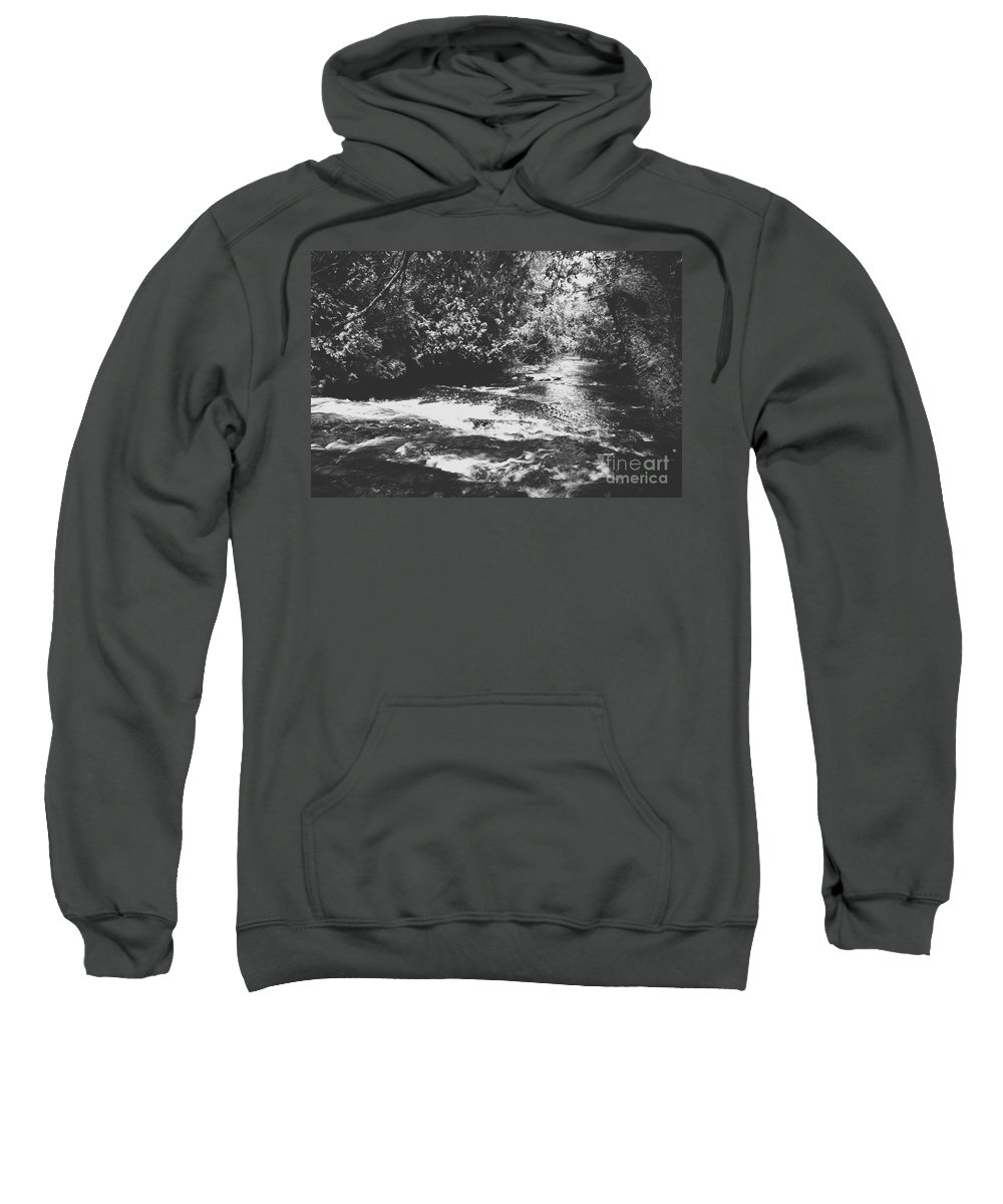 Water Sweatshirt featuring the photograph Waterway by Wesley Farnsworth