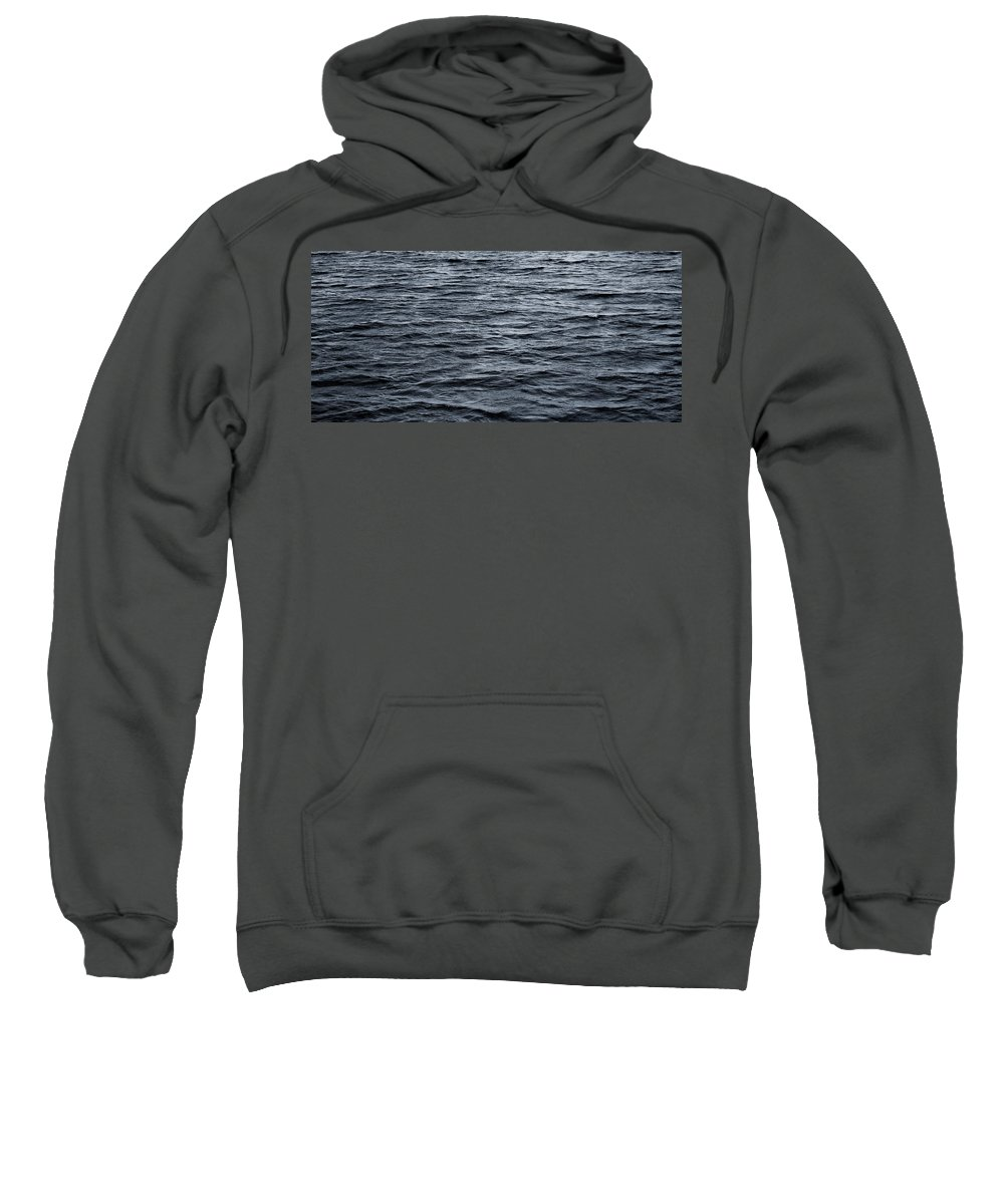 Wave Sweatshirt featuring the photograph Waves by Charles Harden