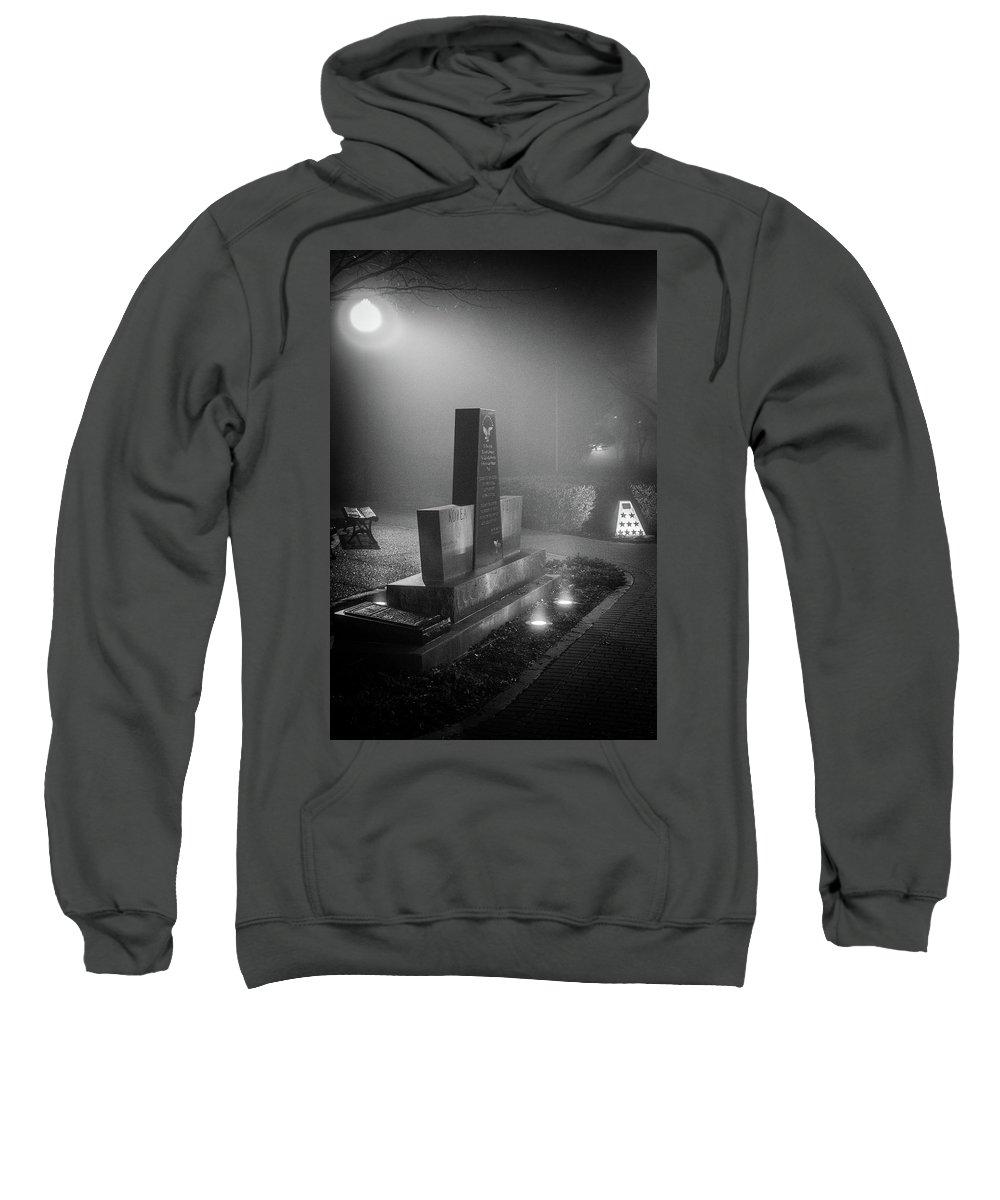 Photo Sweatshirt featuring the photograph We Will Remember by Krisjan Krafchak