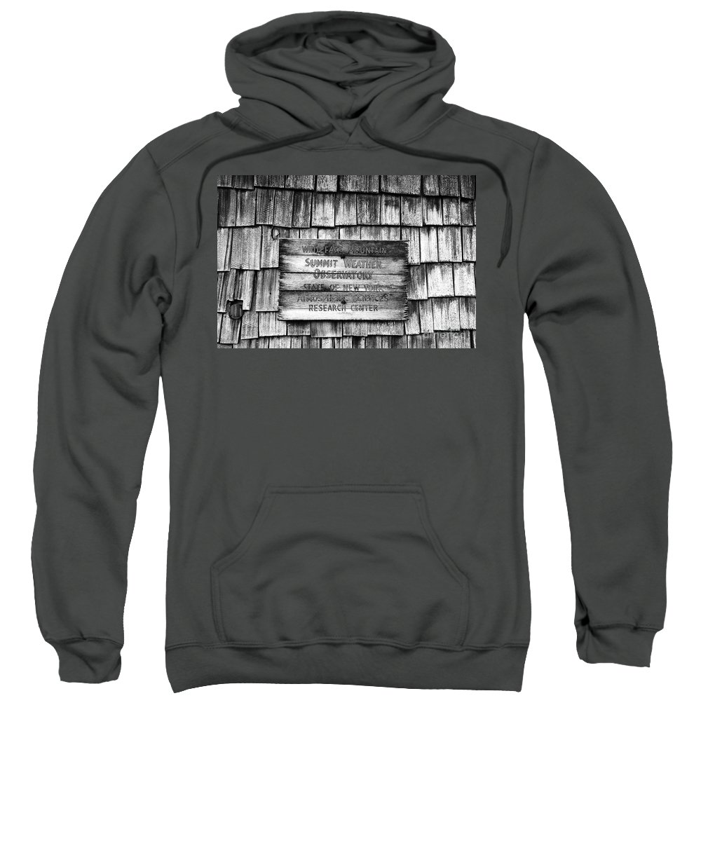 Weather Sweatshirt featuring the photograph Weathered by David Lee Thompson