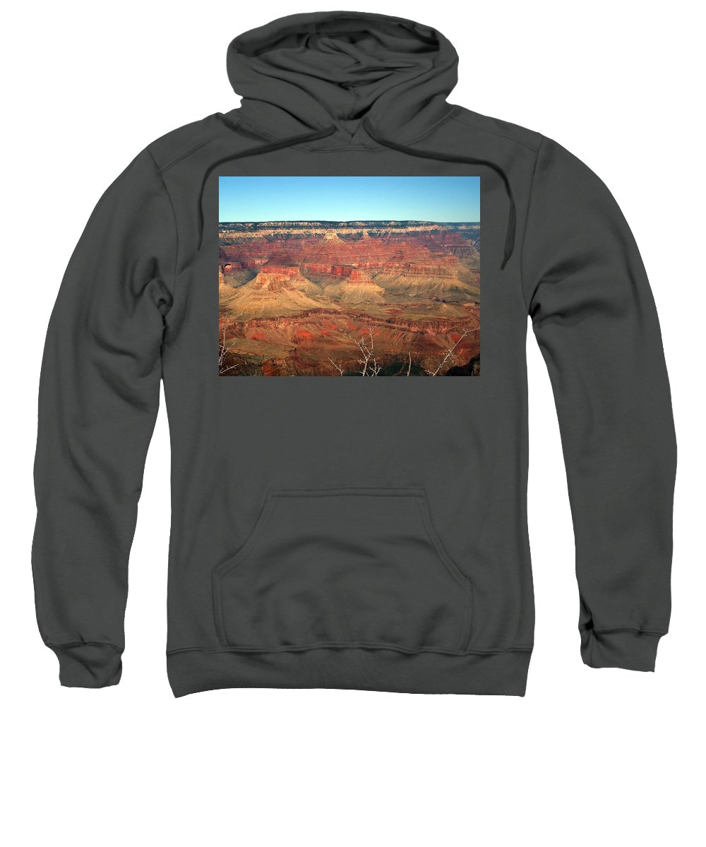 Grand Canyon Sweatshirt featuring the photograph Whata View by Shelley Jones