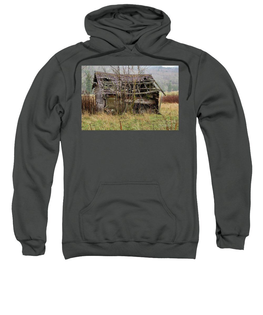 Shed Sweatshirt featuring the photograph Whatcom-8944 by Roger Patterson