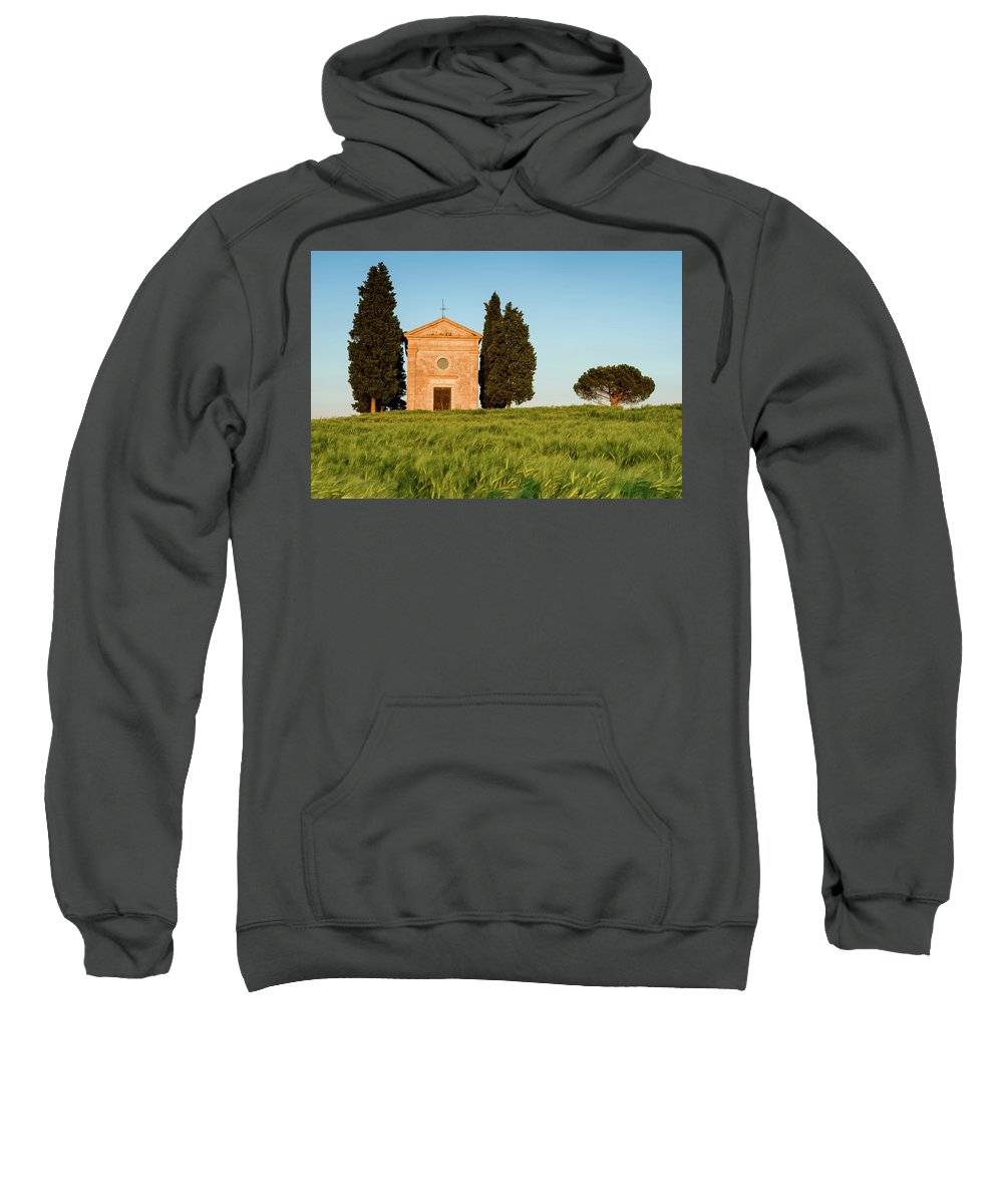 Europe Sweatshirt featuring the photograph Wheat Glow by Michael Blanchette