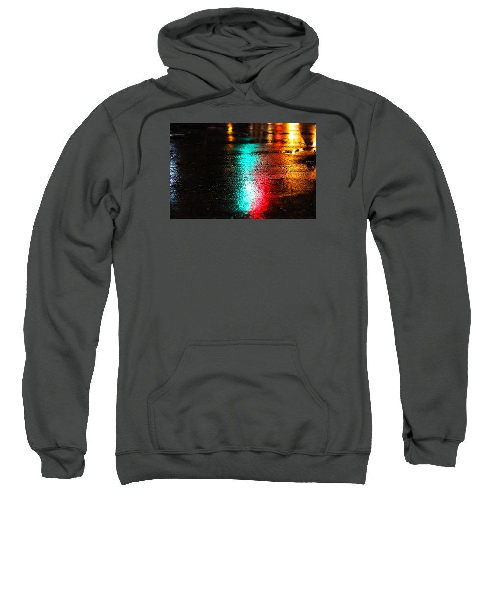 Low Detail Sweatshirt featuring the photograph Whenever It Rains by Prakash Ghai