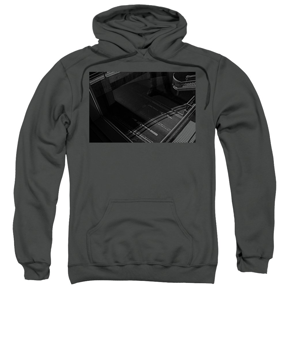 Which Sweatshirt featuring the photograph Which Way? by Daniel Lusty