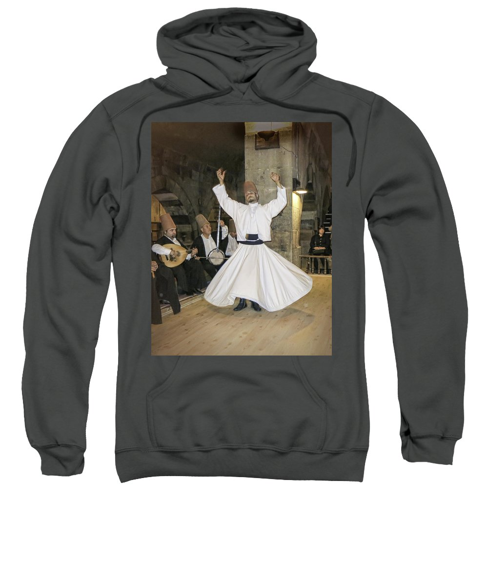 Whirling Dervish Sweatshirt featuring the photograph Whirling Dervish by Phyllis Taylor
