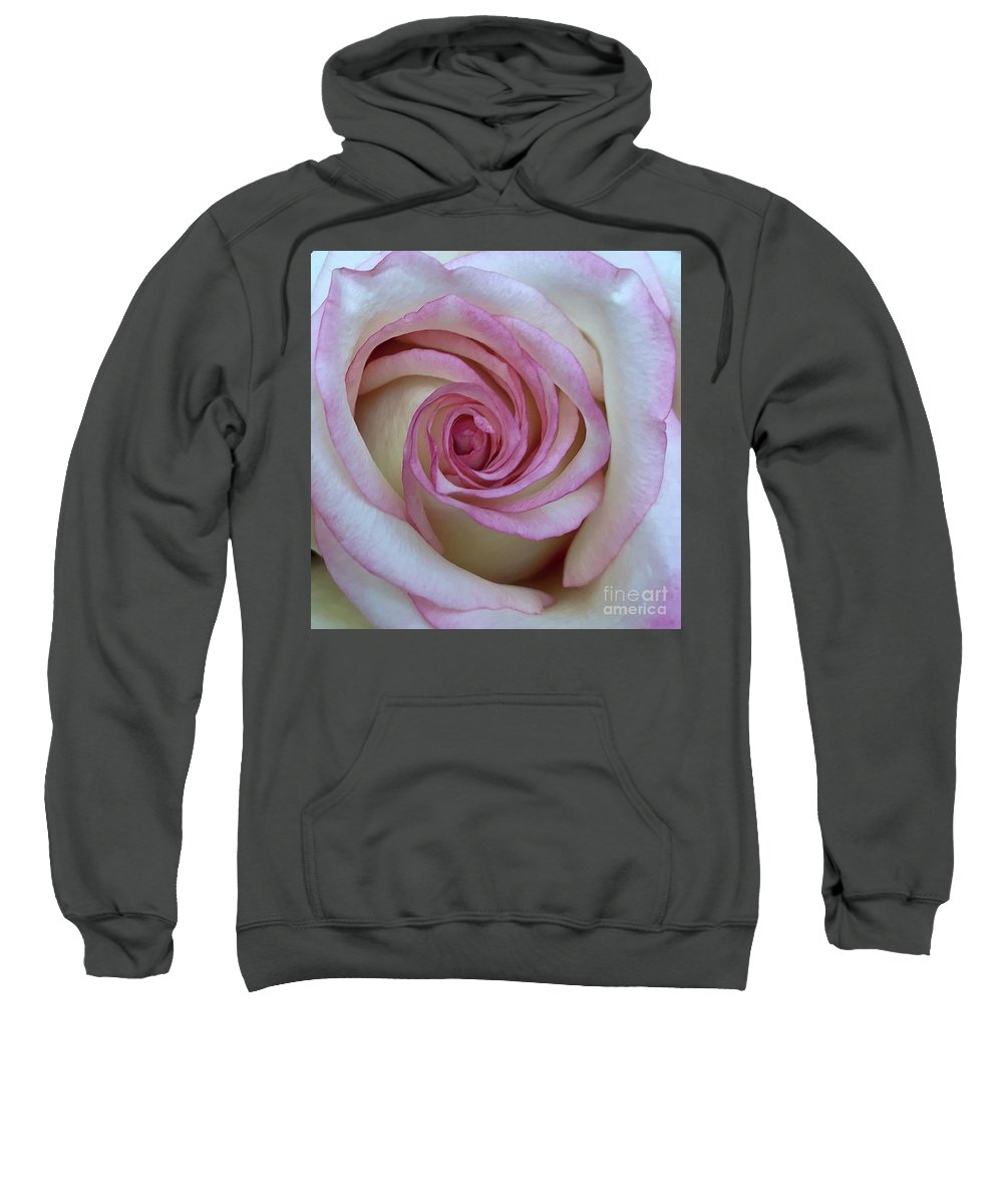 Rose Sweatshirt featuring the photograph Whisper by Nanci Rozal