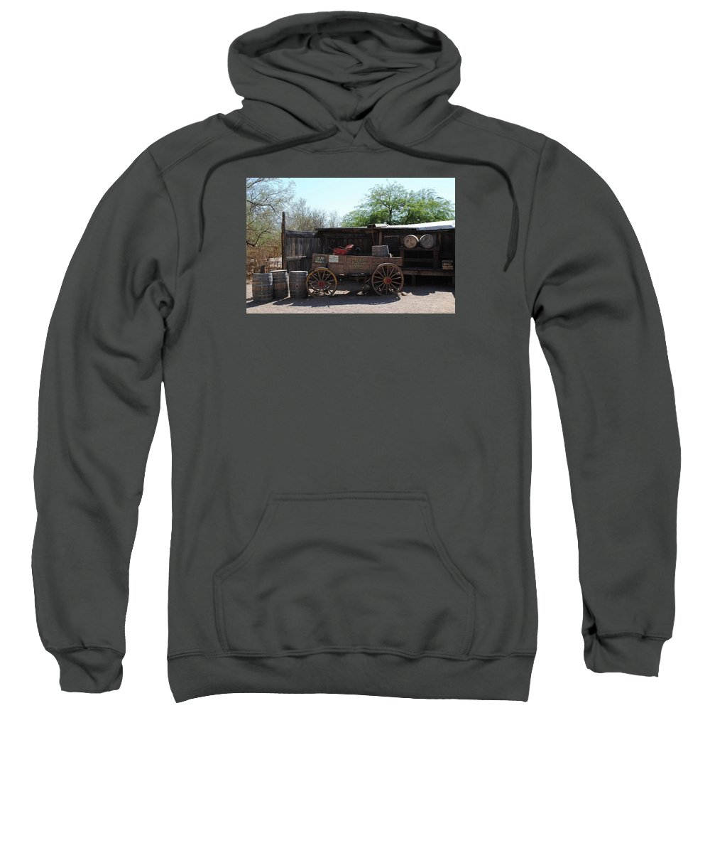 Wild Sweatshirt featuring the photograph Wild West Still Life by Katy Granger