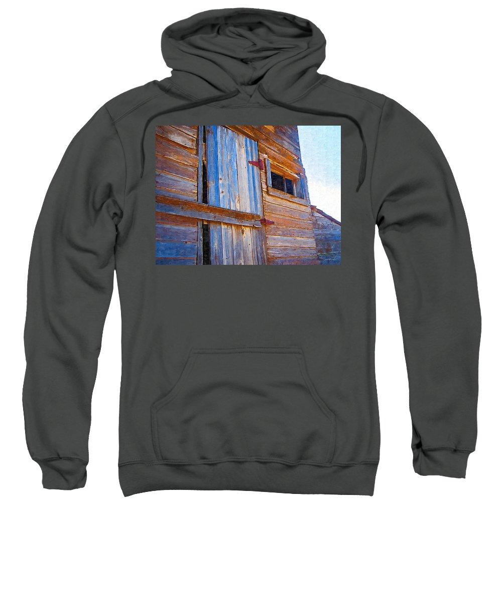 Window Sweatshirt featuring the photograph Window 3 by Susan Kinney