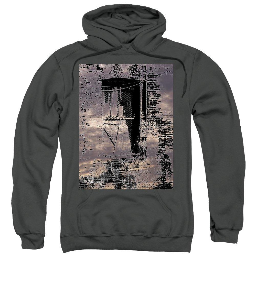 Window Sweatshirt featuring the photograph Window 3 by Tim Allen