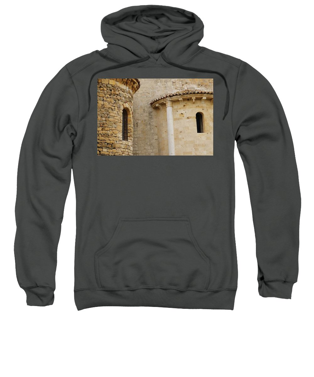 Italy Sweatshirt featuring the photograph Window Due - Italy by Jim Benest