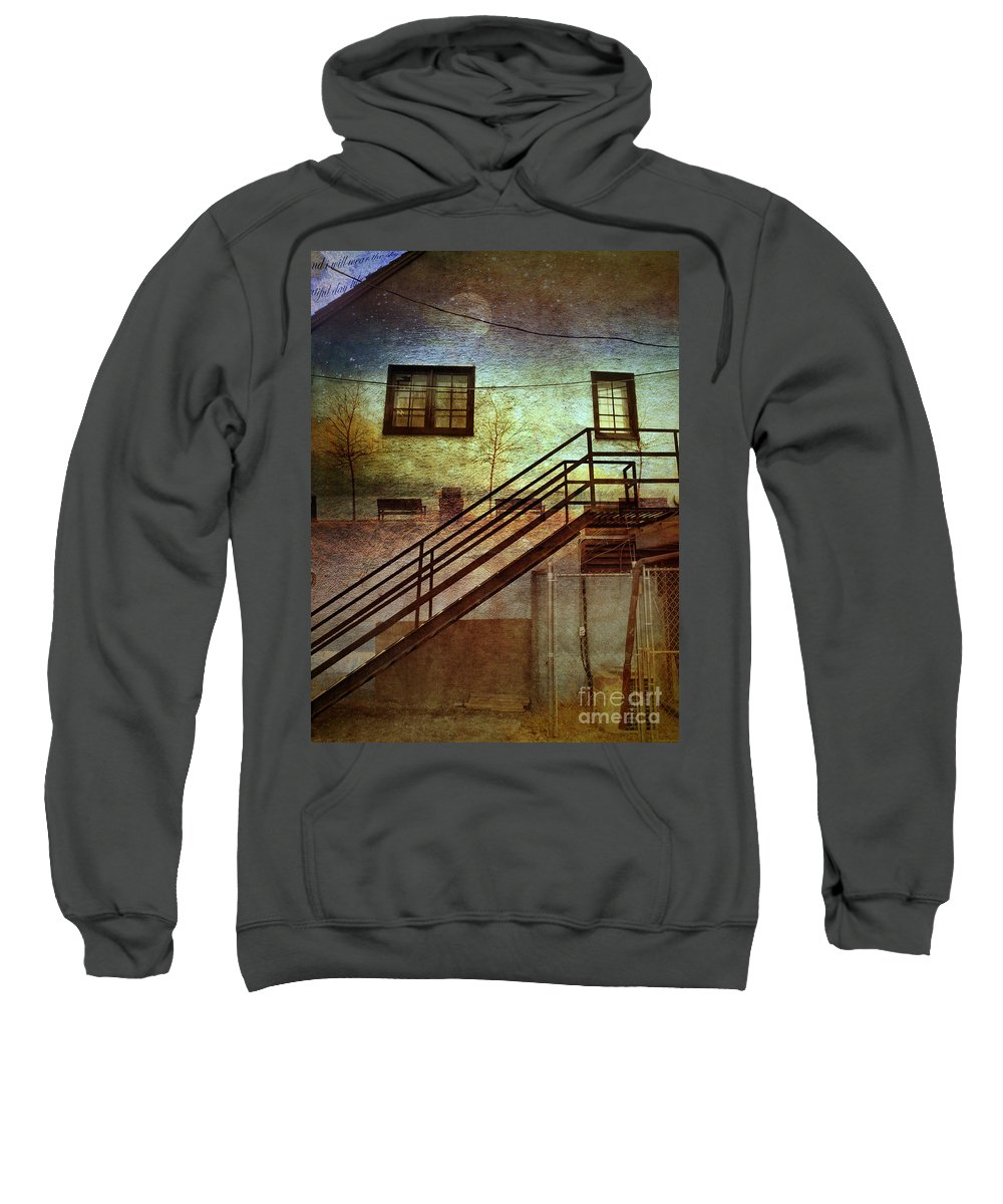 Wall Sweatshirt featuring the photograph Window Seat by Tara Turner