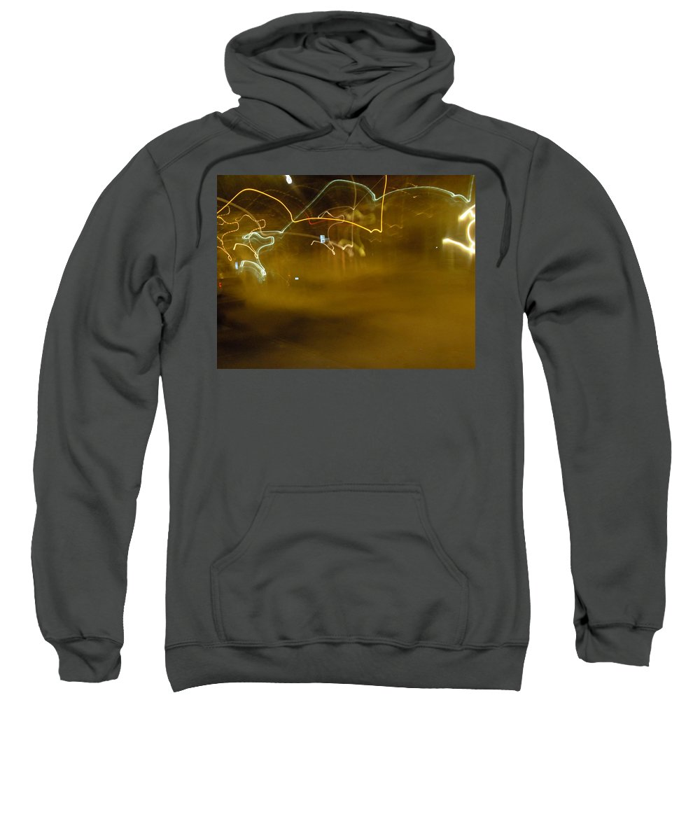 Photograph Sweatshirt featuring the photograph Winter Lights by Thomas Valentine