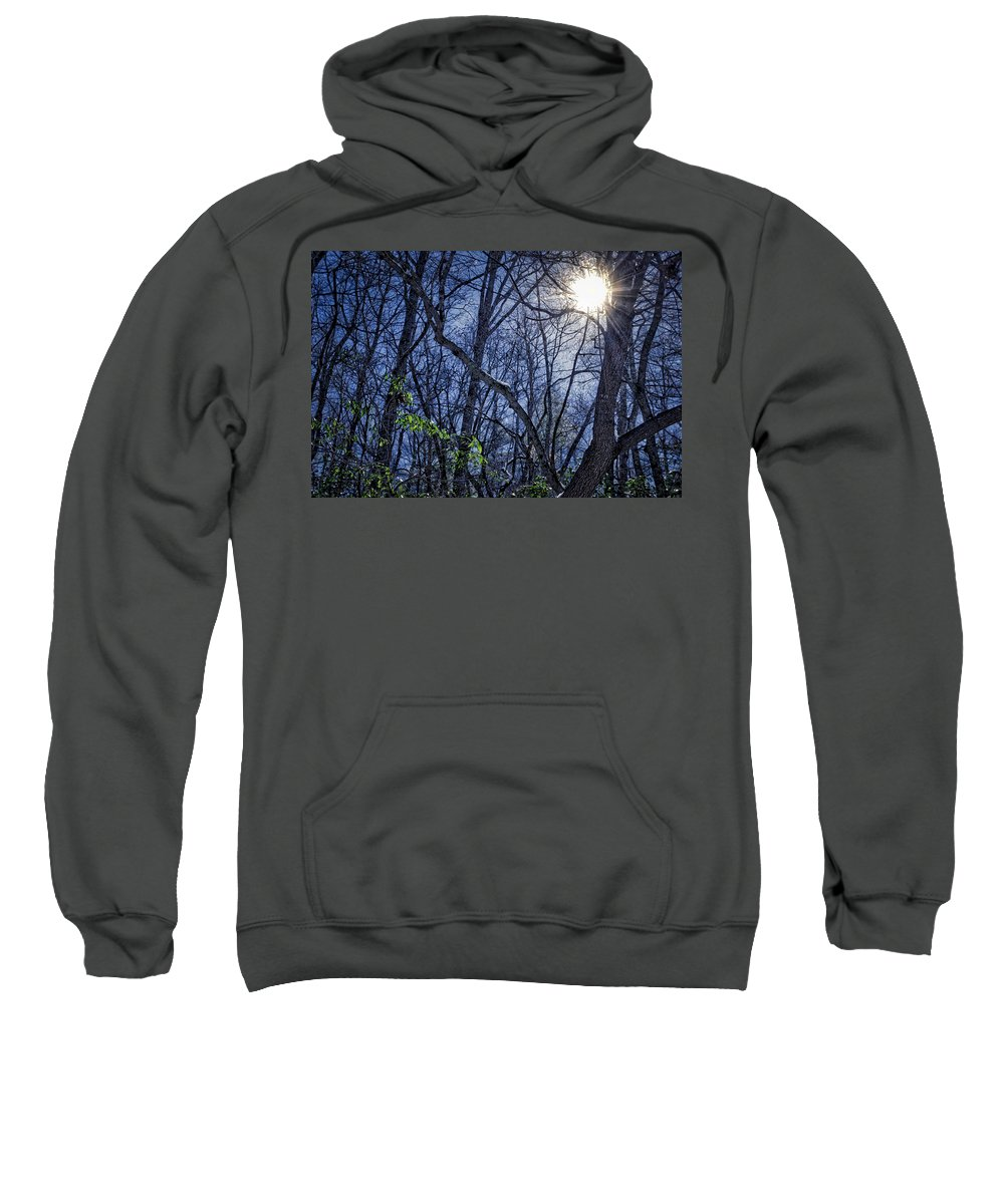 Seasons Sweatshirt featuring the photograph Wintersun by Daniel Gundlach