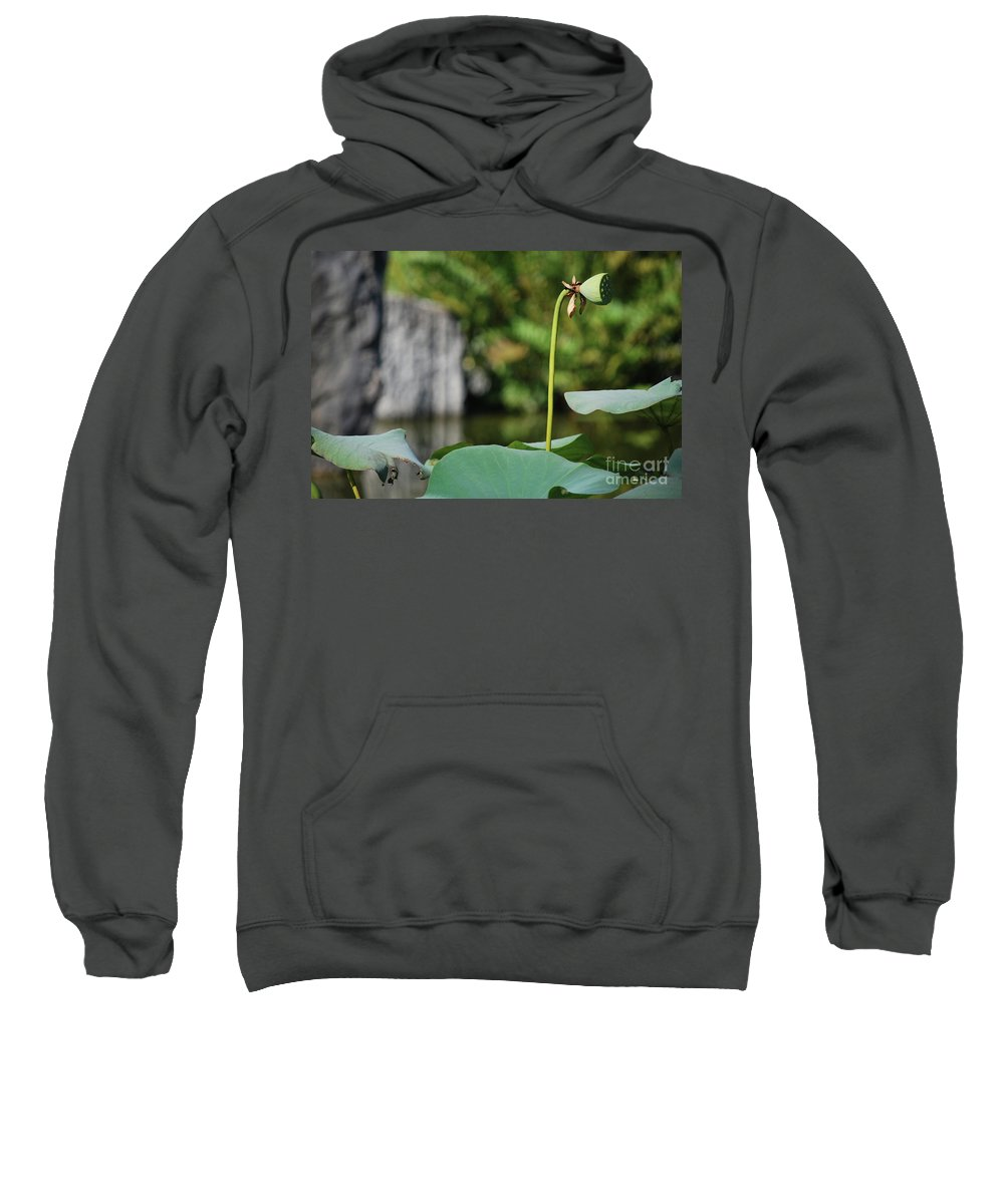 Sweatshirt featuring the photograph Without Protection Number Four by Heather Kirk