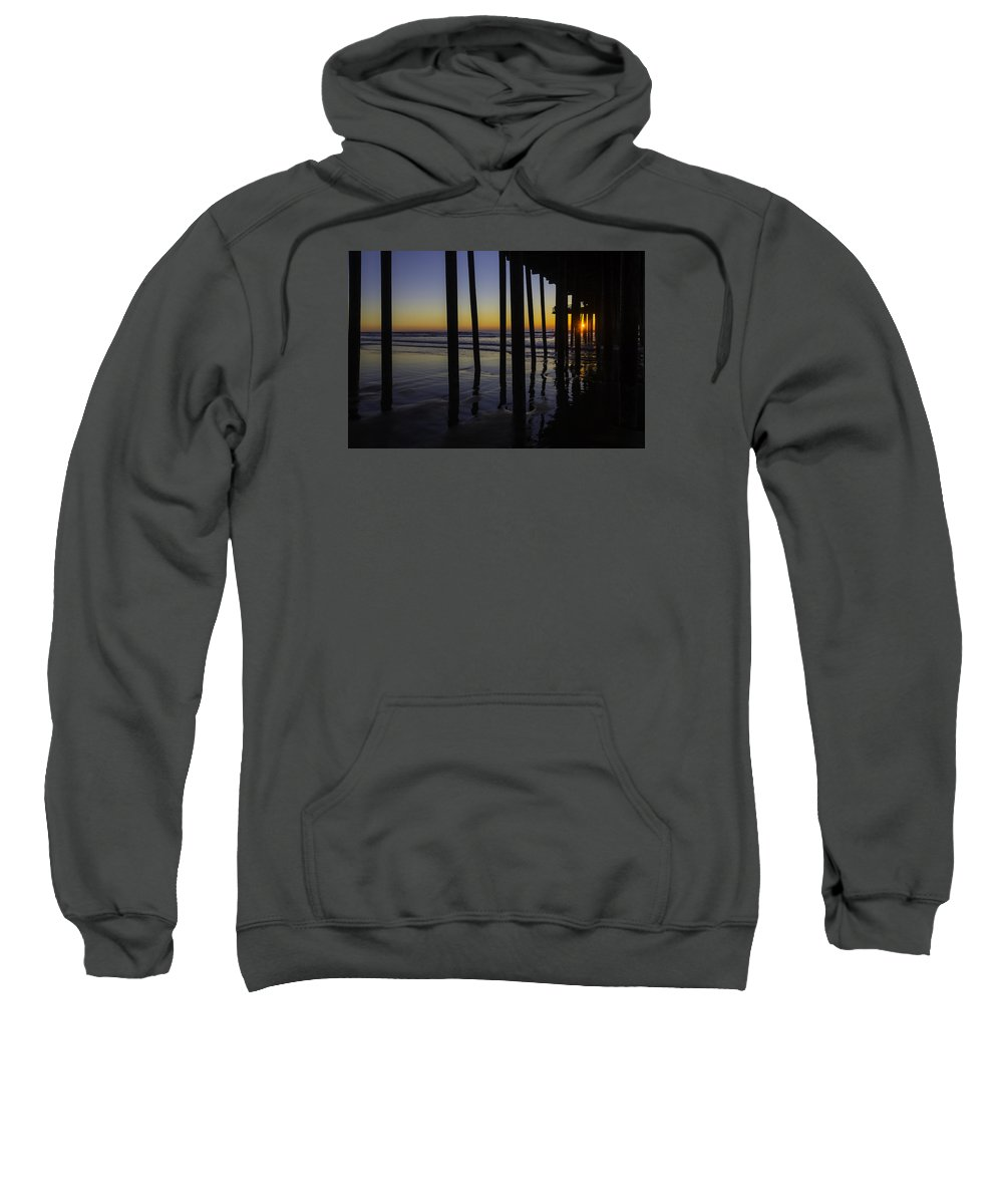 Pismo Beach Sweatshirt featuring the photograph Wonderful Pismo Sunset by Garry Gay