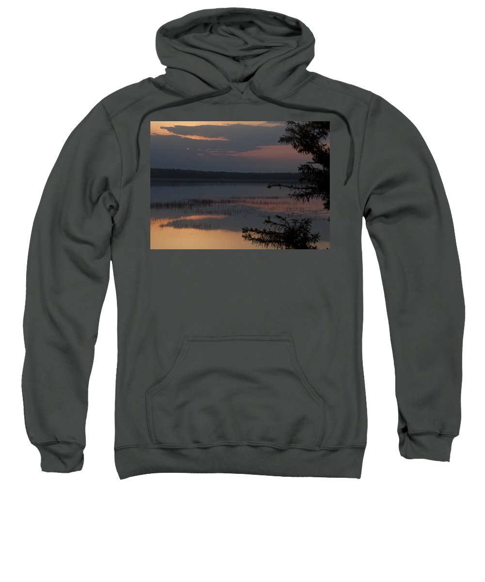 Sunrise Sweatshirt featuring the photograph Worden's Pond Sunrise 2 by Steven Natanson