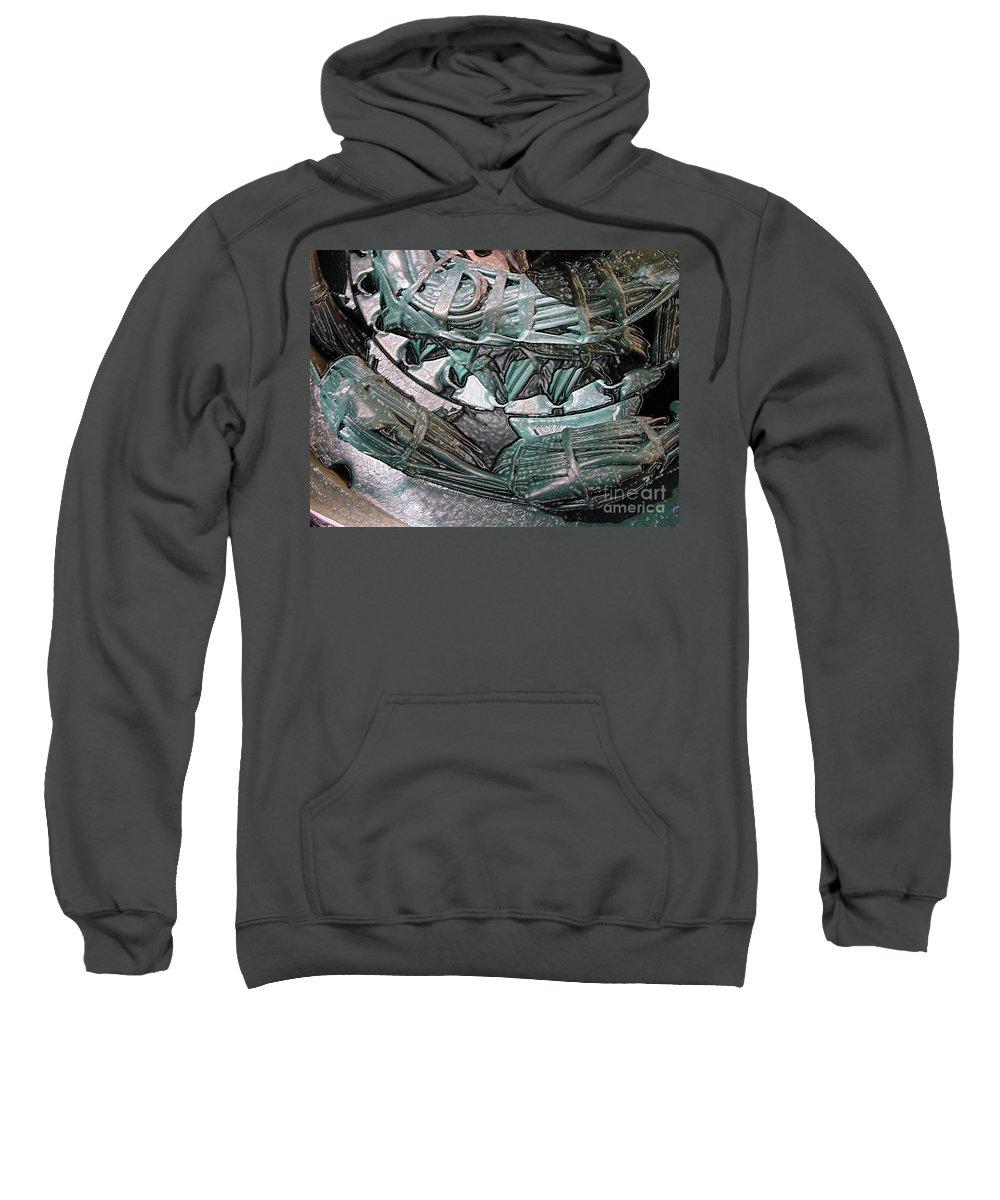 Digital Art Sweatshirt featuring the digital art Wound Tight by Ron Bissett