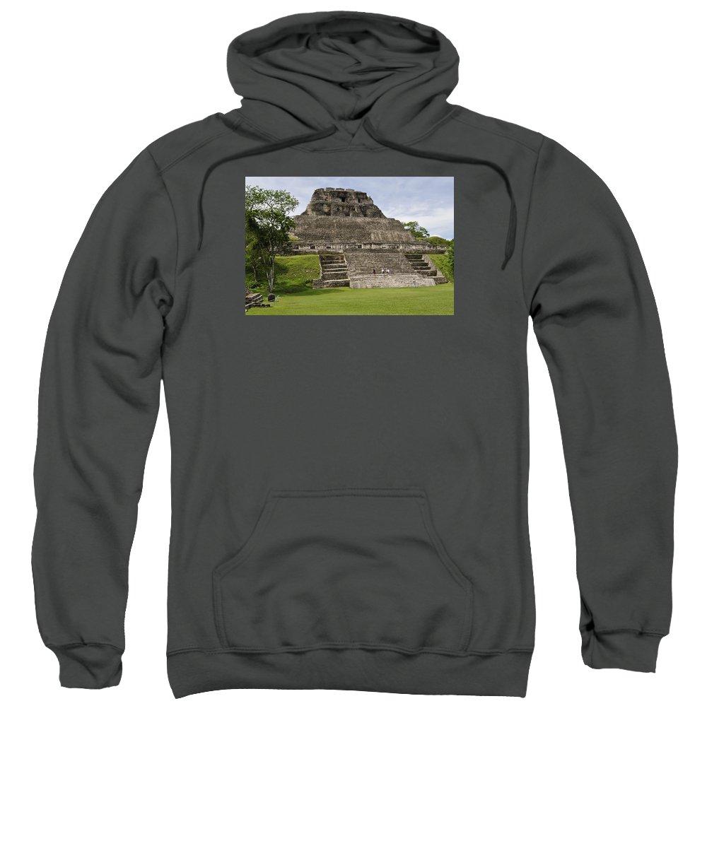 Xunantunich Sweatshirt featuring the photograph Xunantunich  by Glenn Gordon