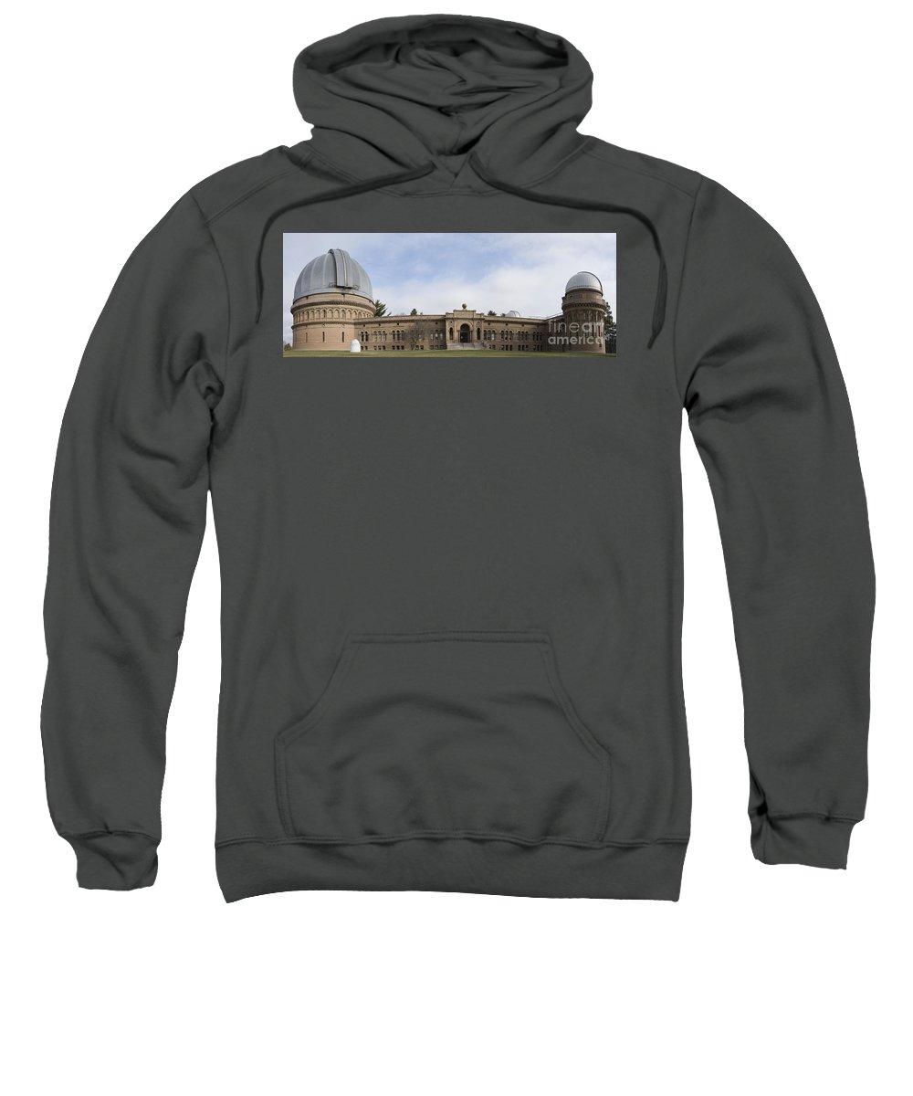 Yerkes Sweatshirt featuring the photograph Yerkes Observatory by David Bearden