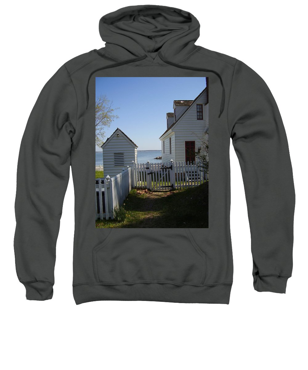 Yorktown Sweatshirt featuring the photograph Yorktown by Flavia Westerwelle