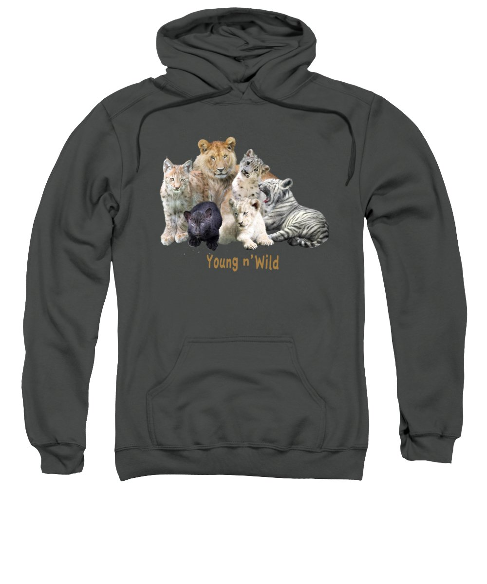 Panther Hooded Sweatshirts T-Shirts