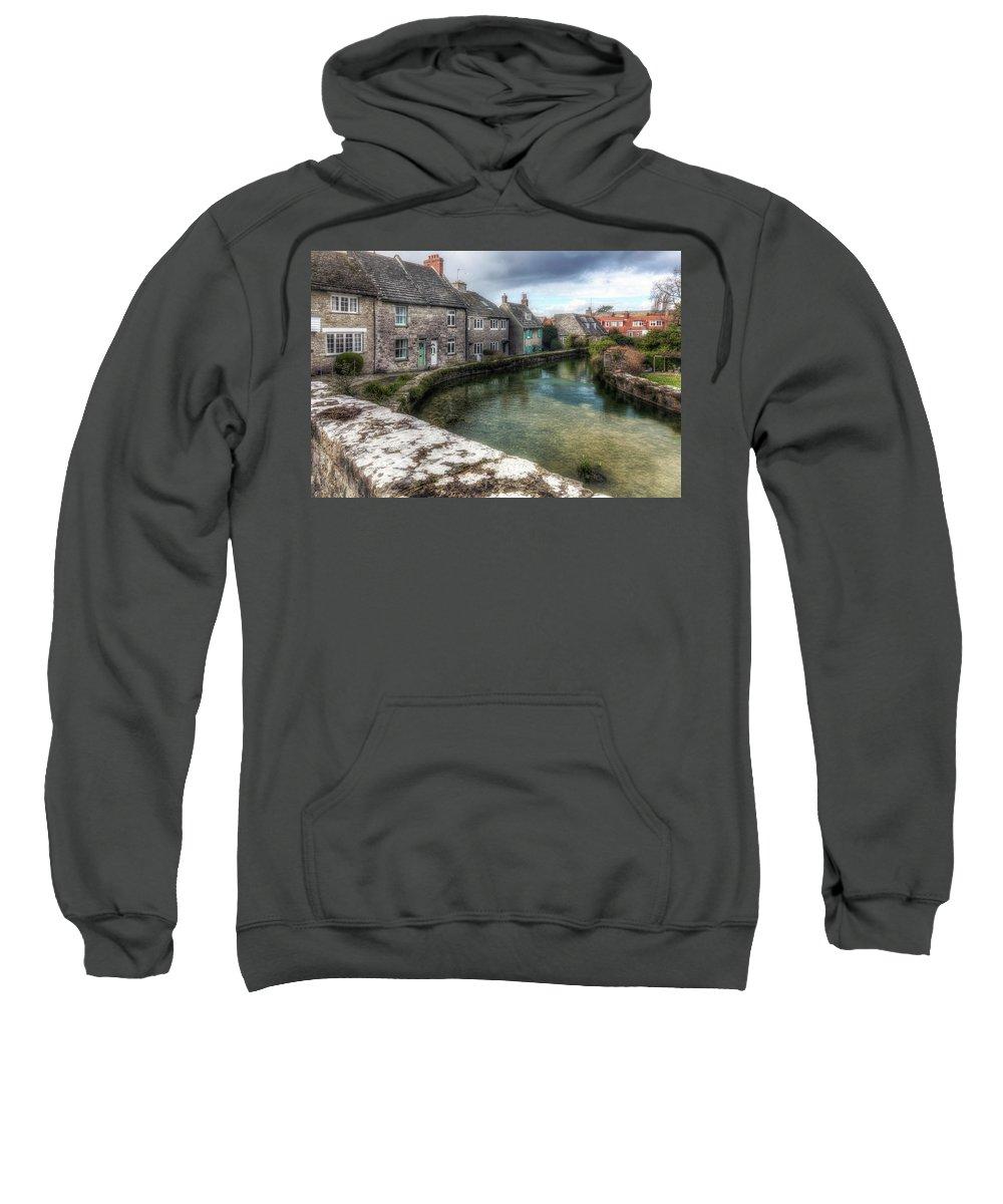 Swanage Sweatshirt featuring the photograph Swanage - England by Joana Kruse