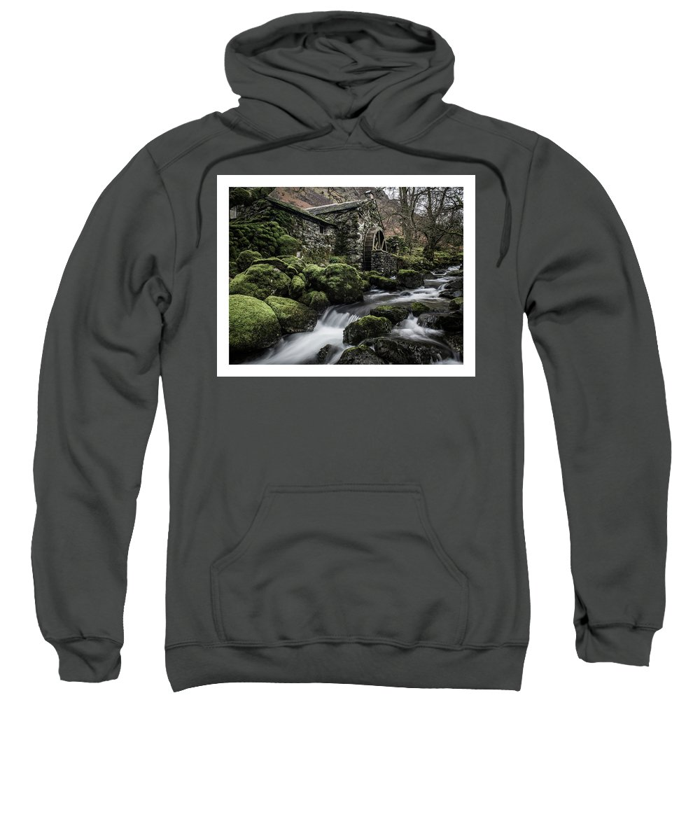 Lake District Sweatshirt featuring the photograph Borrowdale Mill by Mark Mc neill