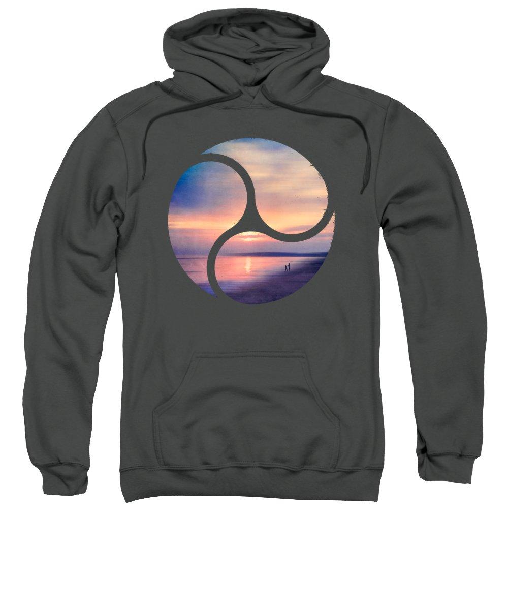 Atlantic Sweatshirt featuring the photograph Calm Sea by Dirk Wuestenhagen