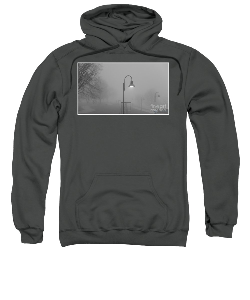 Light Sweatshirt featuring the photograph Catching The Light In Lakewood by Alexander Belisle