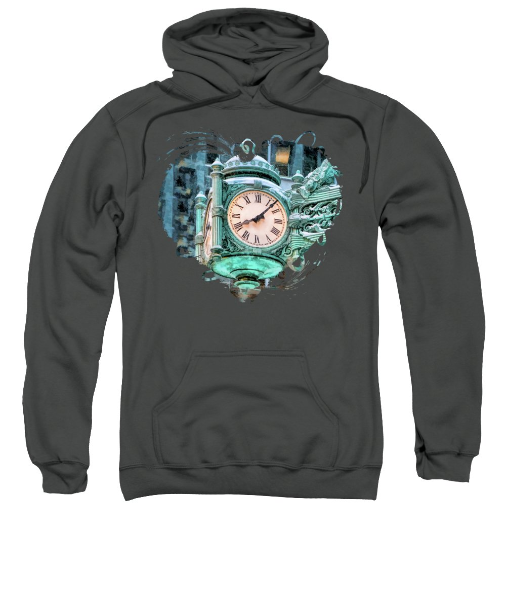 Clock Paintings Hooded Sweatshirts T-Shirts