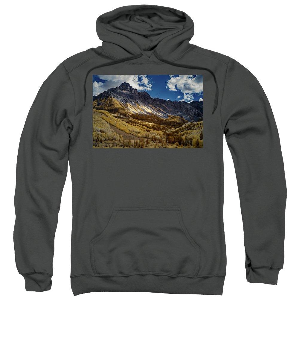 Colorado Sweatshirt featuring the photograph Colorado Mountains by Jon Glaser
