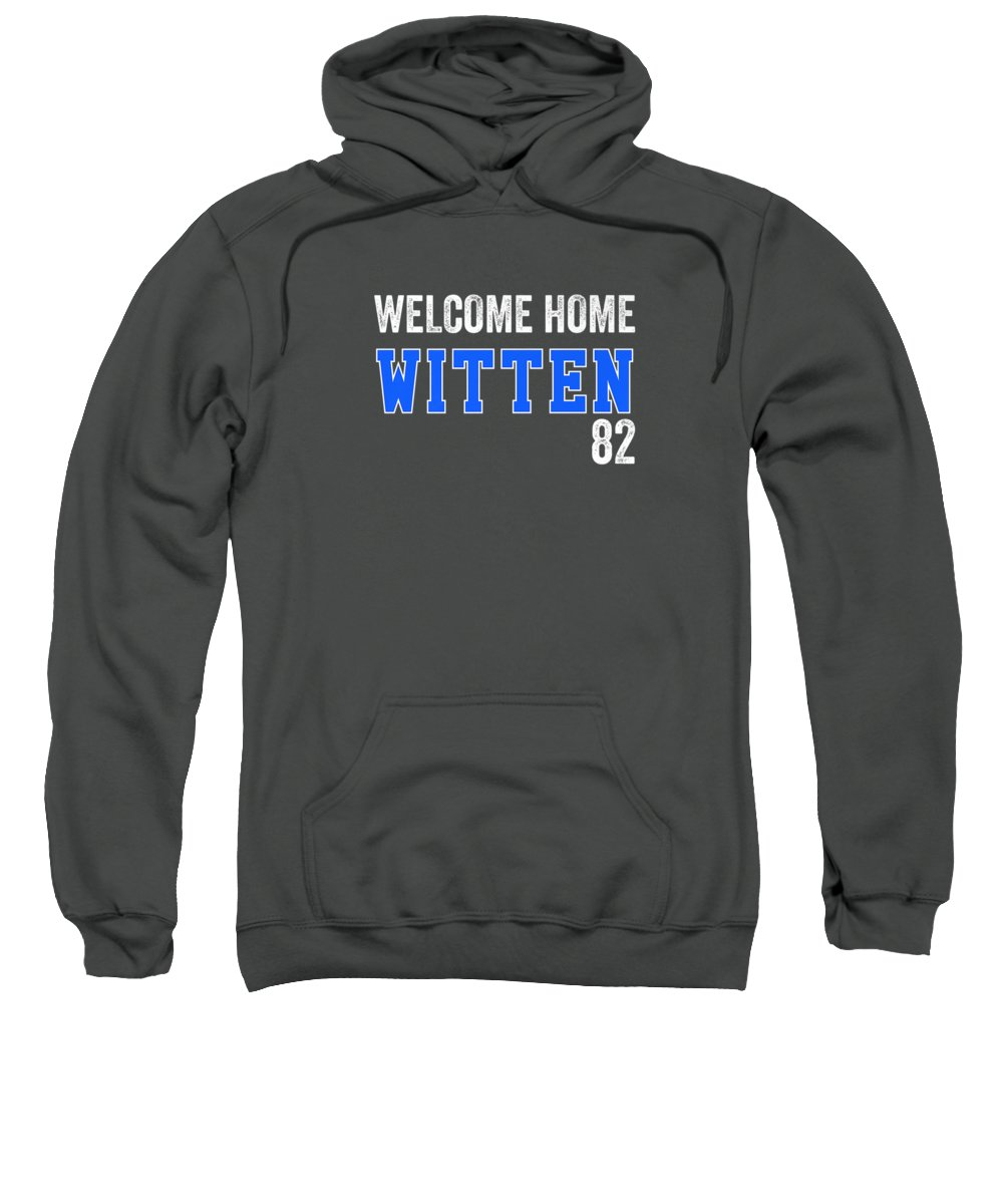 men's Novelty T-shirts Sweatshirt featuring the photograph Cowboys Jason Back Welcome Home Witten Tshirt by Do David