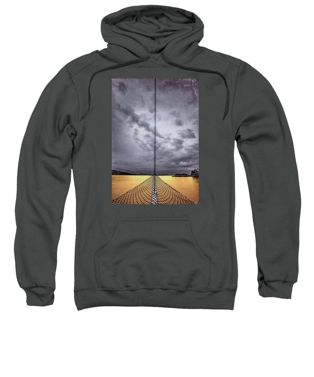Perfect Storm Mixed Media Hooded Sweatshirts T-Shirts