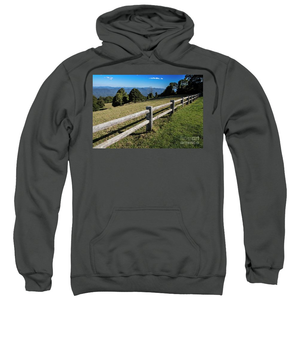 Griffiths Lookout Sweatshirt featuring the photograph Griffiths Lookout, Dorrigo, Nsw by Sheila Smart Fine Art Photography
