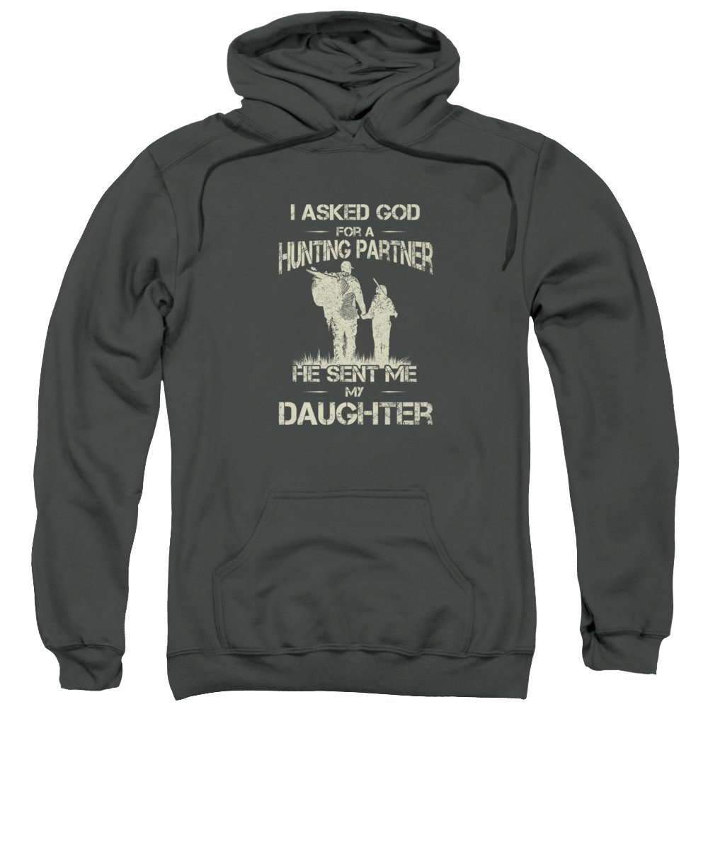 Father And Daughter Digital Art Hooded Sweatshirts T-Shirts
