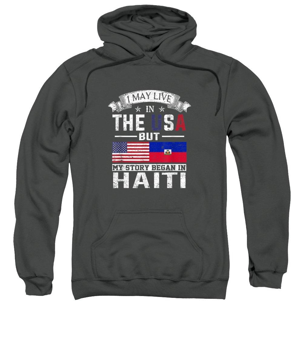 Haiti Hooded Sweatshirts T-Shirts