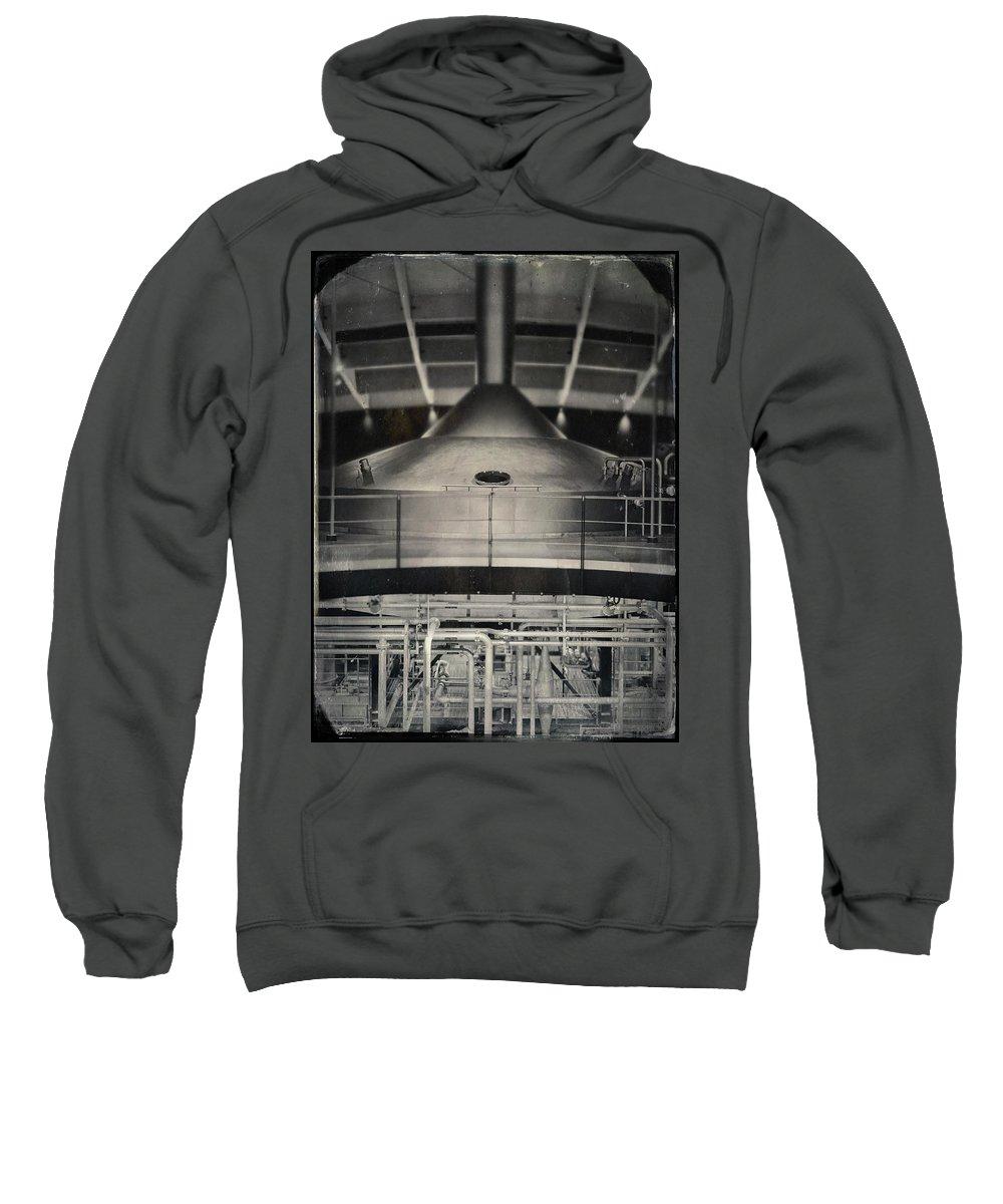 Mash Tun Sweatshirt featuring the photograph Macallan Distillery Mash Tun by Dave Bowman