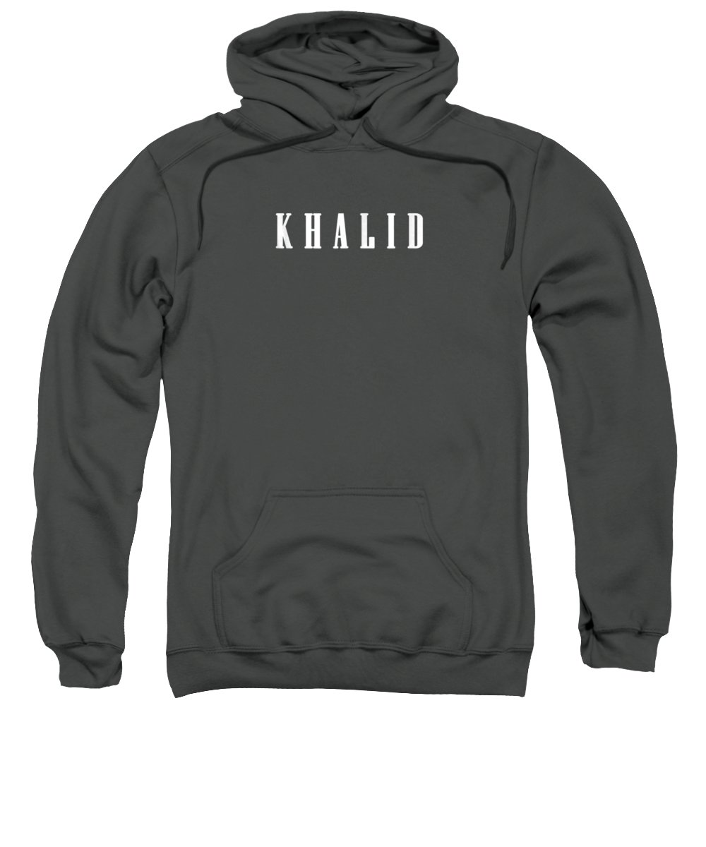 men's Novelty T-shirts Sweatshirt featuring the digital art new Cool funny gift name fan cheap Khalid Shirts by Do David