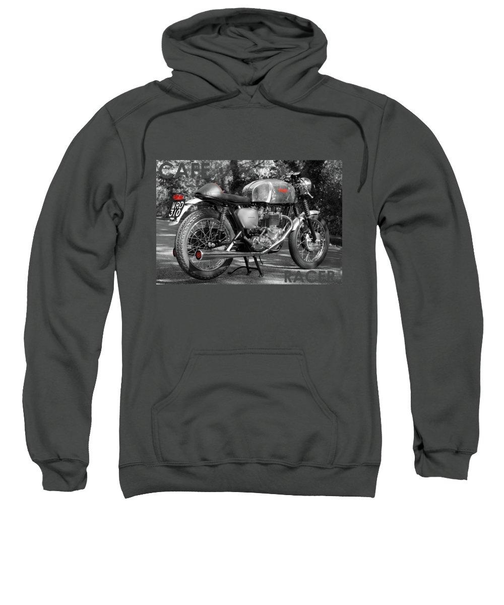 Cafe Photographs Hooded Sweatshirts T-Shirts