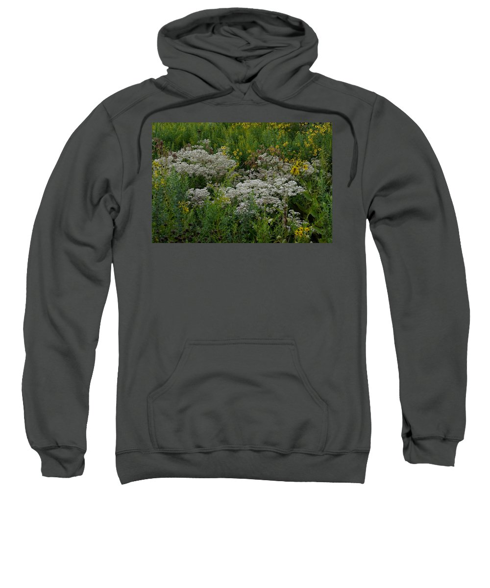 Tiwago Sweatshirt featuring the photograph Prairie Bouquet by Photography by Tiwago